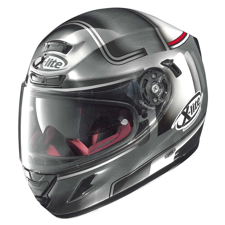 Full-face helmet motorrad fiber XLITE X702 GT Start N Com Pinlock NEW