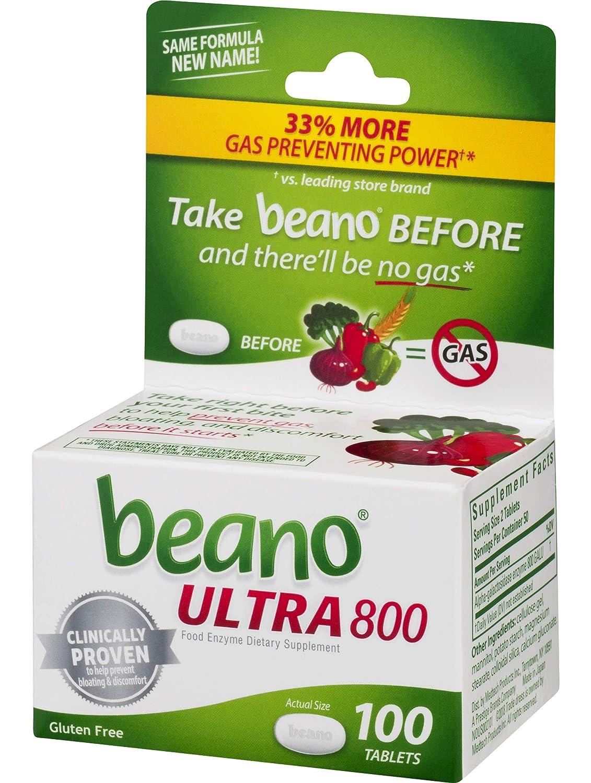 Beano Tablets, 100 Count: Amazon.es: Salud y cuidado personal