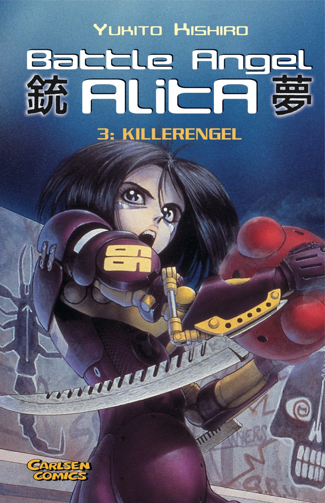 Download Battle Angel Alita, Taschenbuch-Ausg., Bd.3, Killerengel pdf epub