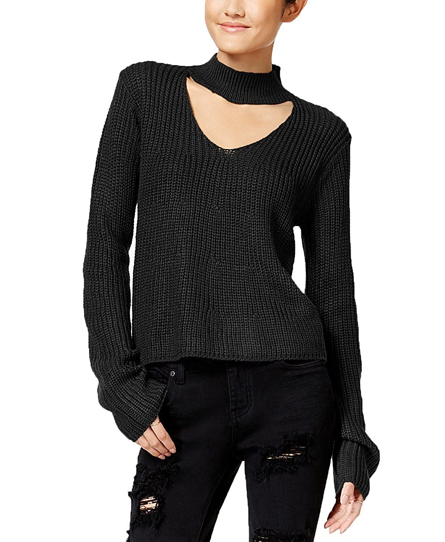Polly /& Esther Juniors Choker Sweater