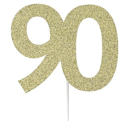 LissieLou - Tarjeta de felicitación para Tarta de 90 ...