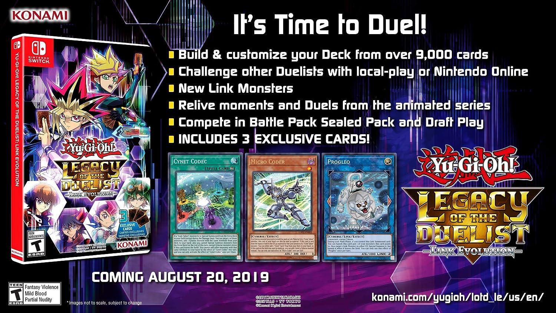 Amazon.com: Yu-Gi-Oh! Legacy of the Duelist: Link Evolution ...