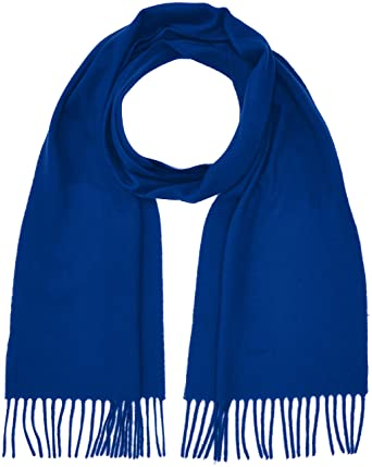 721dd222c90a Gant Solid Lambswool Scarf, Echarpe Homme, Bleu (College Blue), Taille  Unique