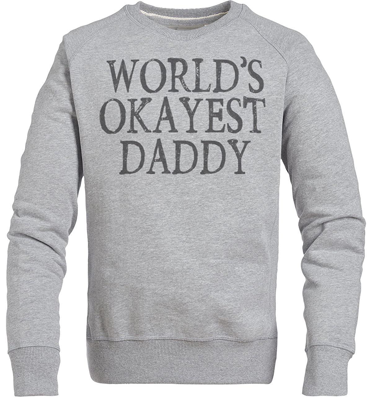 Spoilt Rotten - World\'s Okayest Daddy Design Herren-Strickjacke ...