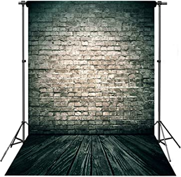 Wooden Floor Vintage Lady Painting Wall Photography Backdrops Photo Props Studio Background 5x7ft