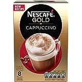 Nescafé Gold Cappuccino Original, 8 sachets, 136g (Pack of 6, Total 48 Sachets)