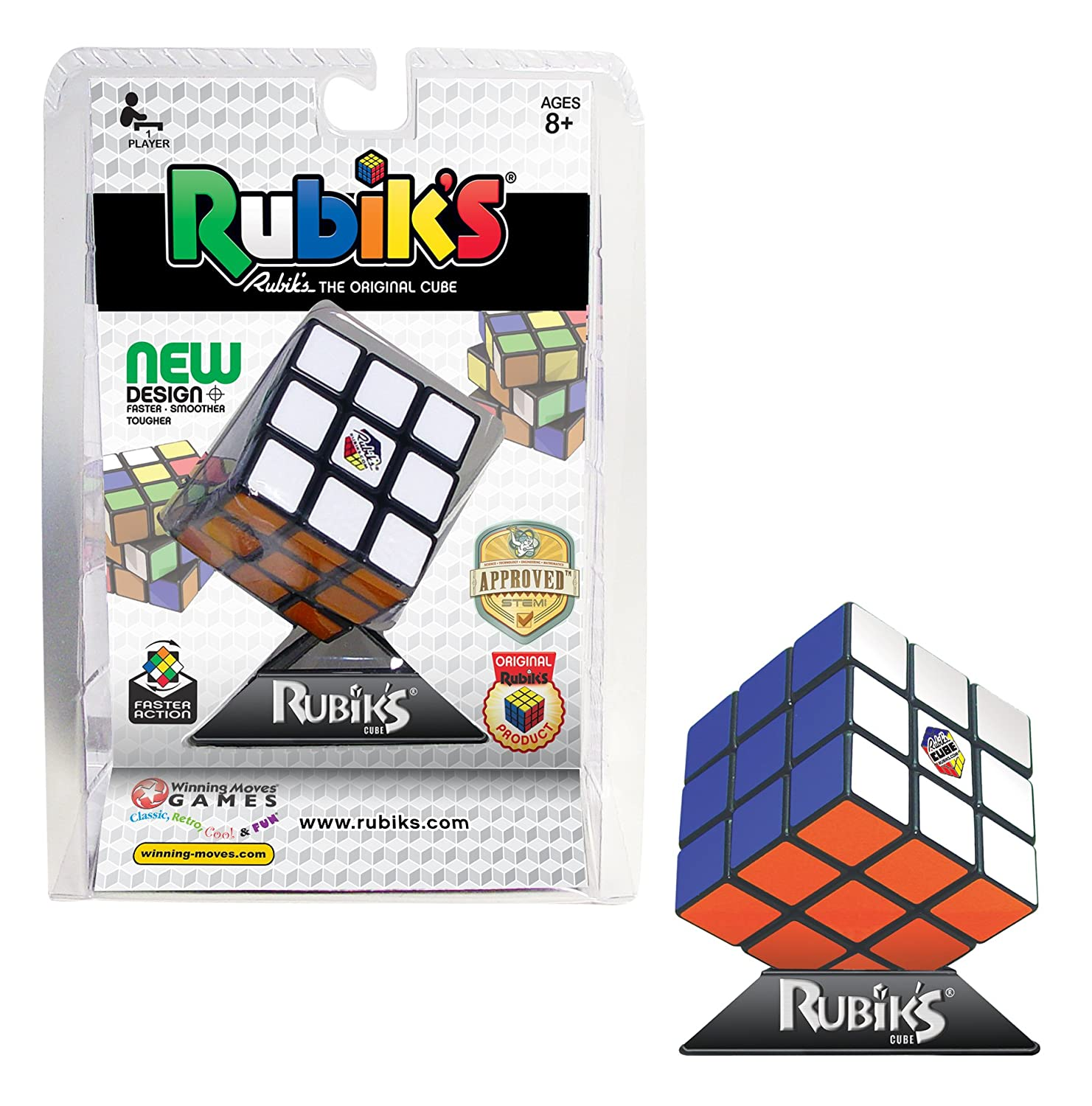 Amazon Winning Moves Games Rubiks Cube Game Toys Games