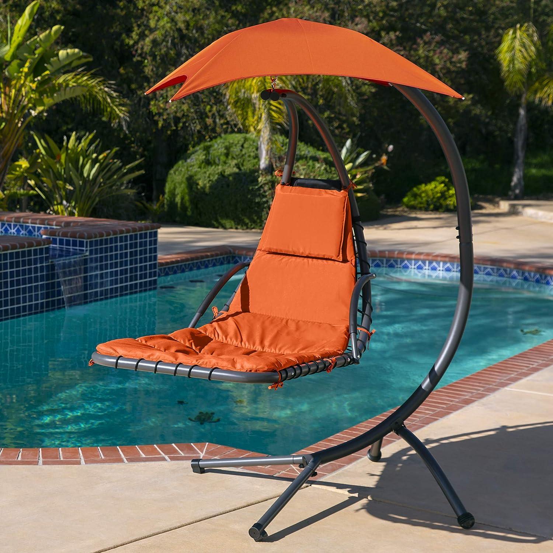 Amazon.com: Tumbona colgante, silla de soporte de arco ...
