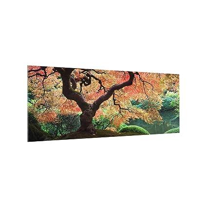 Bilderwelten Paraschizzi in Vetro - Japanese Garden - Panoramico ...