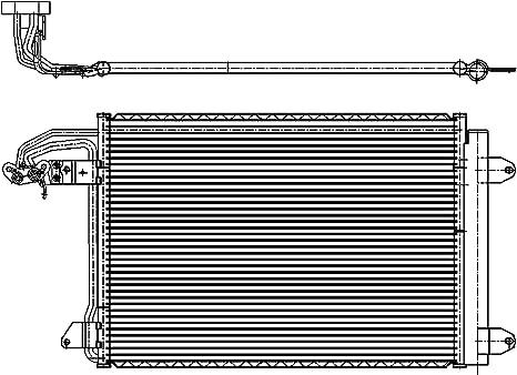 New Genuine AUDI RS6 13-16 avant Noir Brillant Insert Grill et Couverture Gauche N//S