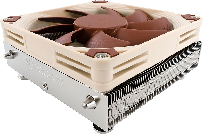 Noctua NH-L9i, disipador de CPU de bajo Perfil y máxima Calidad (marrón)