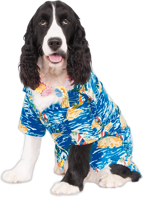 Hawaiian Luau Pet Costume