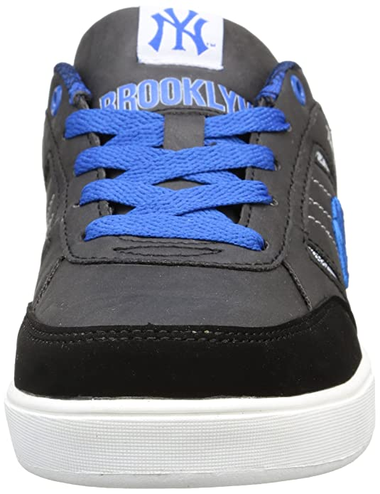 New York Yankees Vadim Low - Zapatillas para Niños, Color Negro (105/black/imperial Blue), Talla 36
