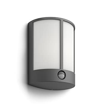 Philips mygarden stock led outdoor wall light with motion sensor 1 philips mygarden stock led outdoor wall light with motion sensor 1 x 6 w integrated aloadofball Choice Image