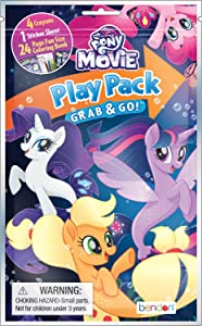 Bendon 84956 My Little Pony Coloring Activity Play Pack, Assorted Styles