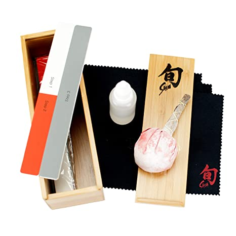 Amazon.com: Shun dm0625 cuchillo Care Kit: Kitchen & Dining