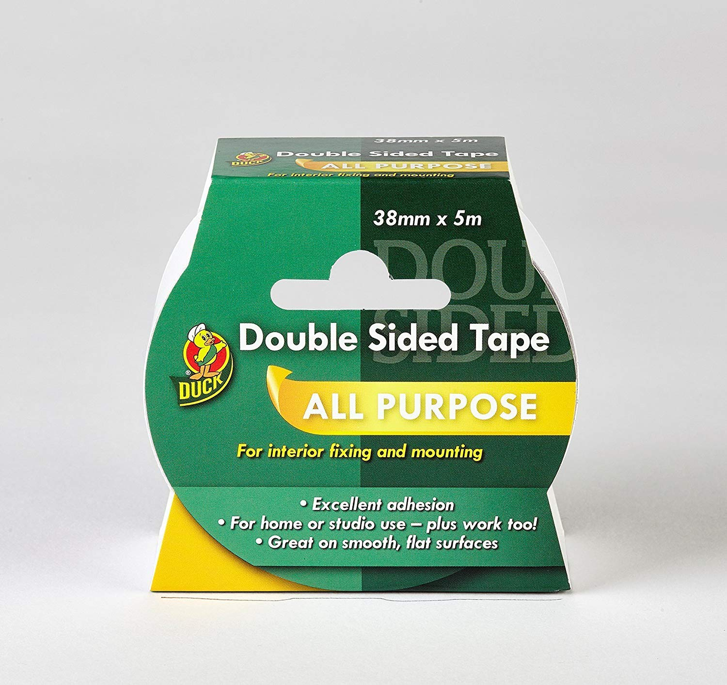 Duck Double Sided Interior Tape - 38 mm x 5 m Shurtape 206982