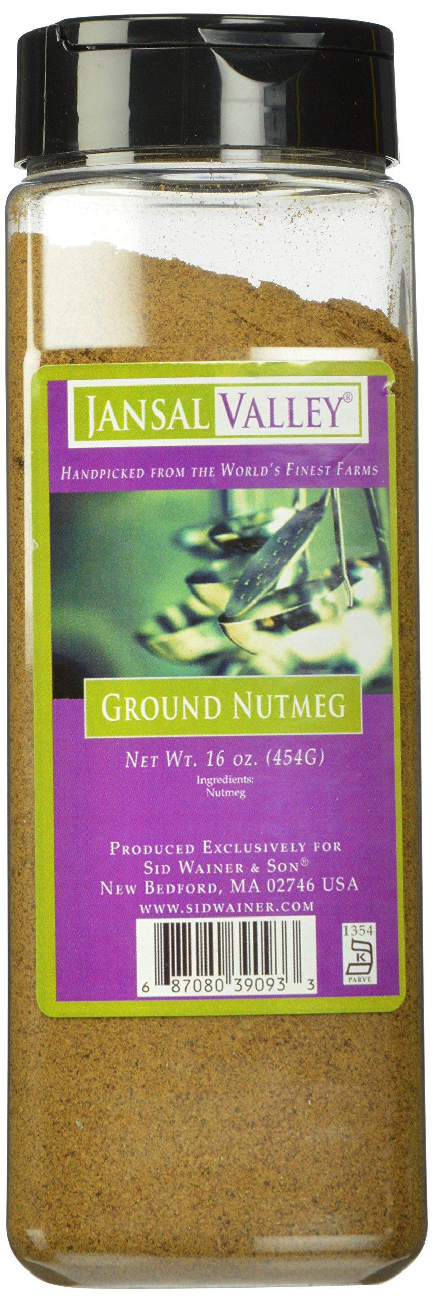 Jansal Valley Ground Nutmeg, 16 Ounce