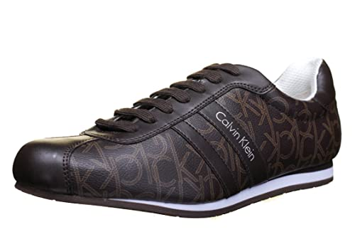 Calvin O11082 Zapatos Chocolat George Ccb Klein Iconogram Smooth dBQeroWCx