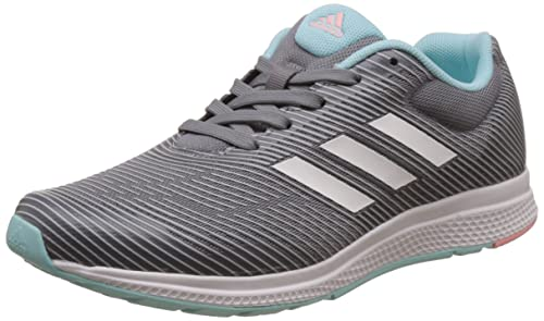sneakers for cheap 87b99 ea6b9 Adidas Mana Bounce 2 J, Scarpe da Ginnastica Unisex – Bambini, Grigio  (Grpumg