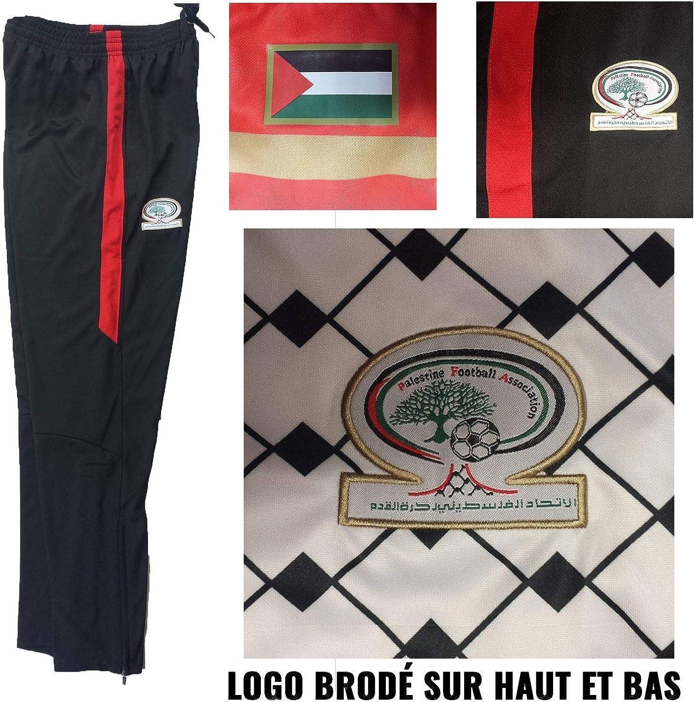 ZX-45 Pas Juste Flex Plastique coll/é UNITIF Survetement Palestine Tissu /épais Blanc mod/èle Premium Logo Brod/é qualit/é
