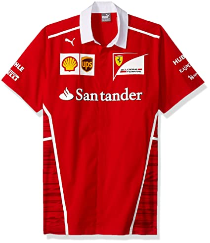 f28b4409623 Image Unavailable. Image not available for. Color: Puma Ferrari Replica  Team Shirt