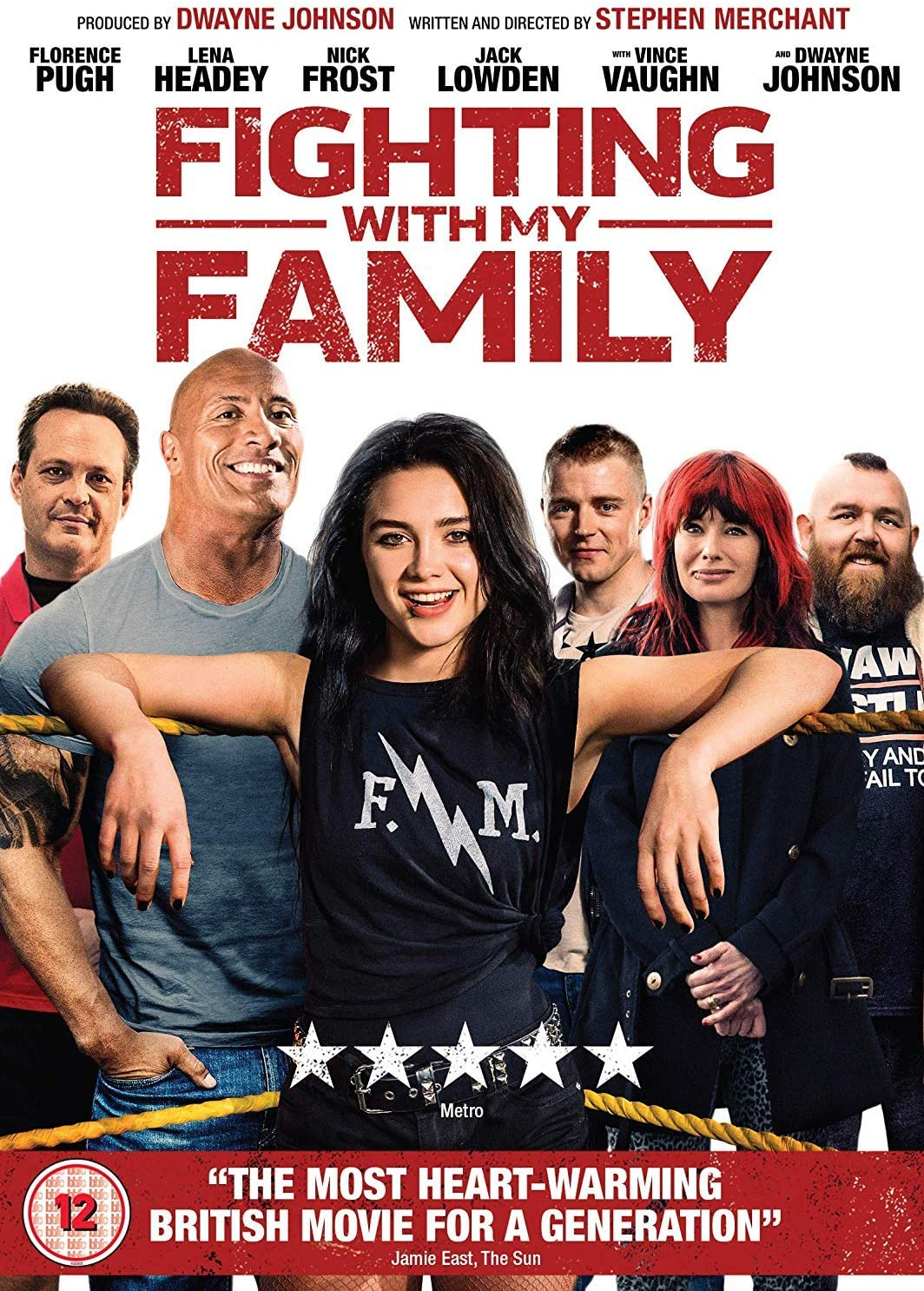 Fighting With My Family [DVD] [2019]: Amazon.co.uk: Florence Pugh ...