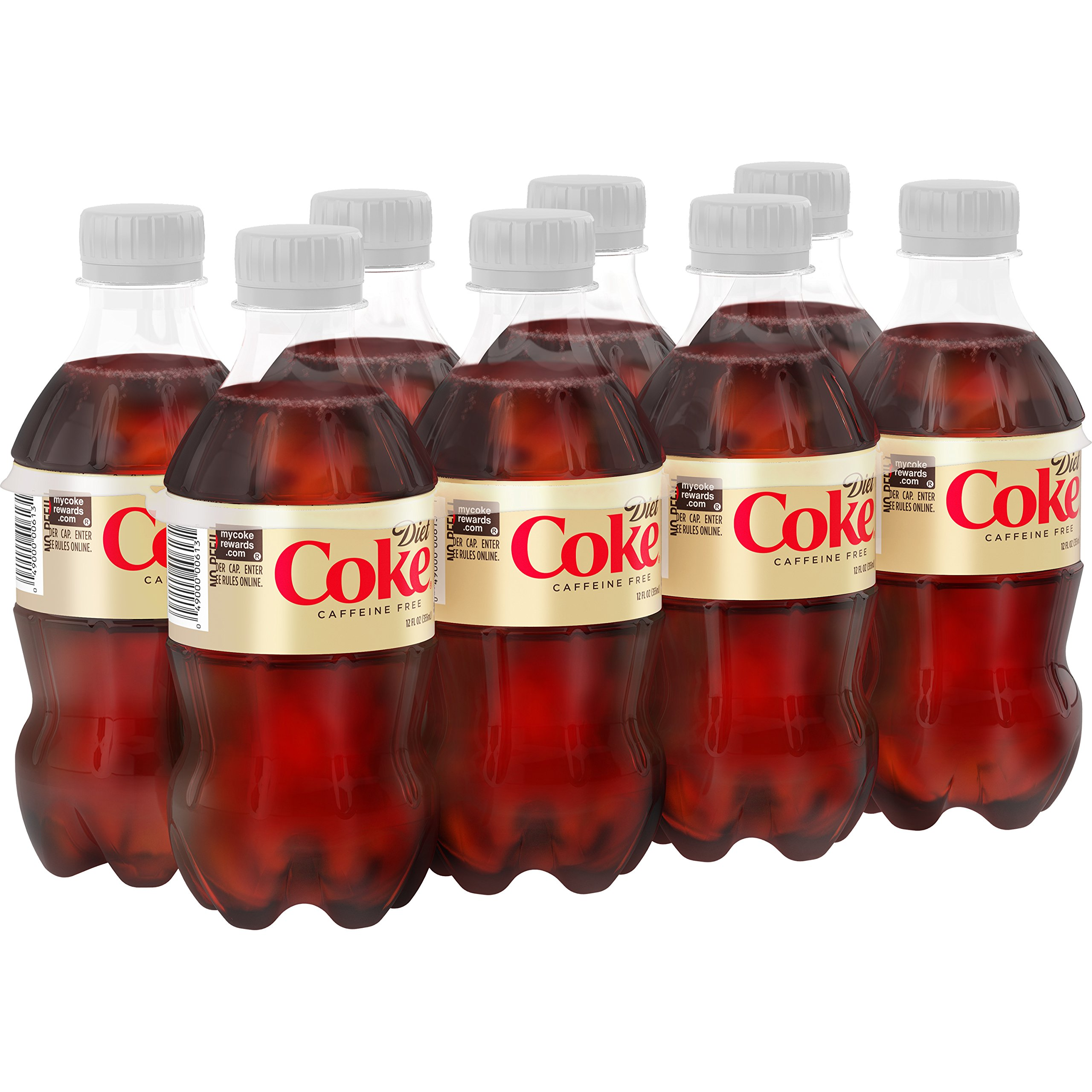 Amazon Com Diet Coke Coca Cola 12 Oz Bottle 8 Pack