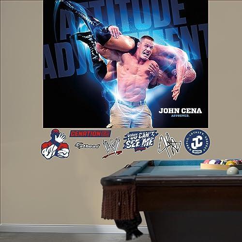 John Cena - Attitude Adjustment Mural