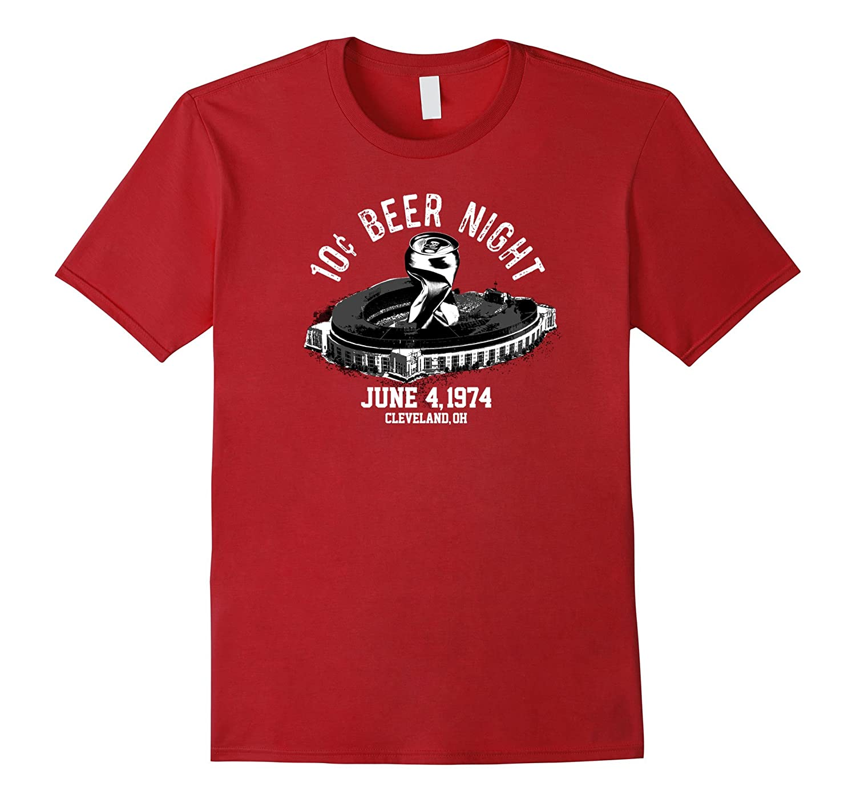 Ten Cent Beer Night Cleveland Baseball T-Shirt-TH
