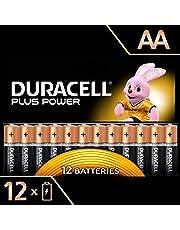 Duracell Plus Power Piles Alcalines Type AA, Lot de 12 Piles (Visuel non Contractuel)