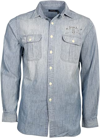 Polo Ralph Lauren Chambray Stencil Camisa
