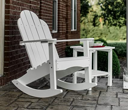 Peachy Amazon Com Wildridge Outdoor Recycled Plastic Classic Andrewgaddart Wooden Chair Designs For Living Room Andrewgaddartcom