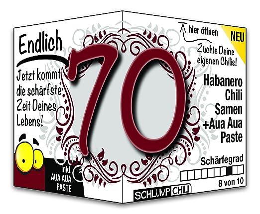 Endlich 70 Eine Tolle Geschenkidee Zum 70 Geburtstag Ein