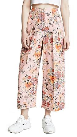 c15ceb28c8 Amazon.com  Rebecca Taylor Women s Marlena Floral Pants  Clothing
