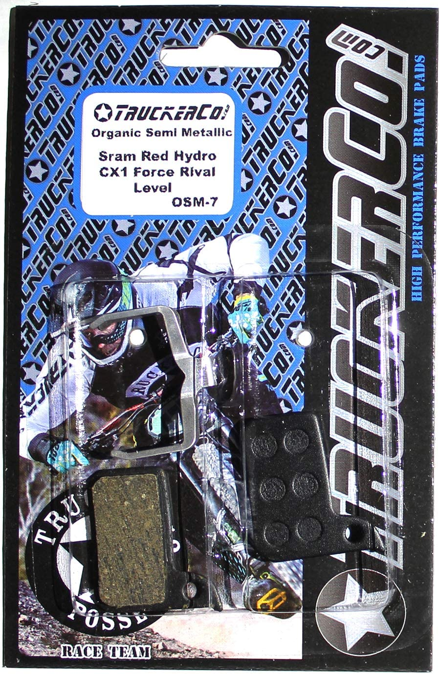 Jagwire Sport Semi//Metallic Disc Bicycle Brake Pad fits Shimano Road//CX RS805 RS