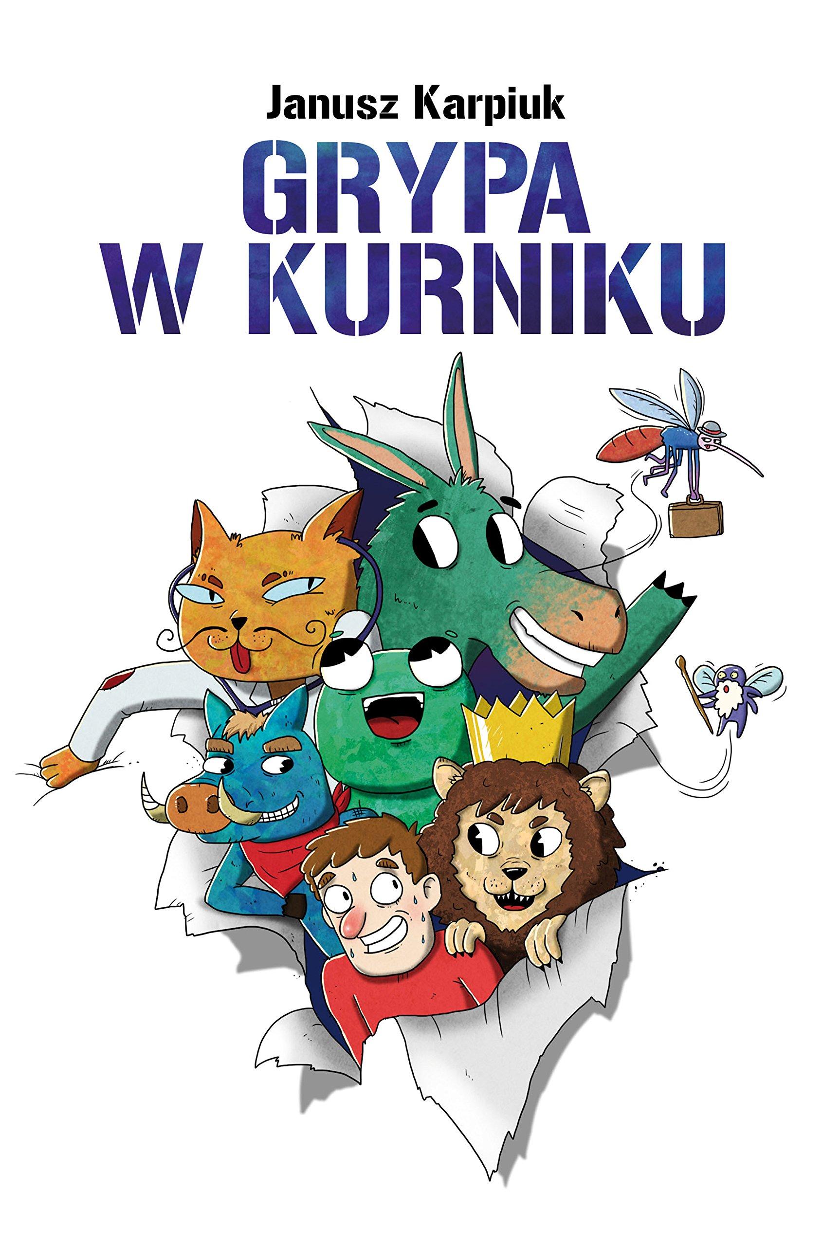Grypa W Kurniku Amazones Janusz Karpiuk Libros En