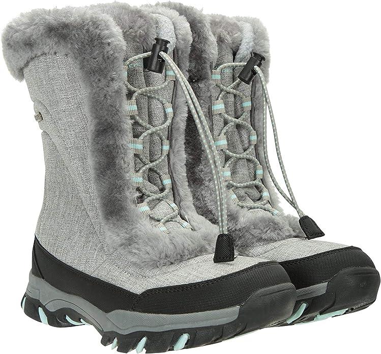 Stivali da Neve Donna Resistente alla Neve Comfort Antiscivolo Scarpe Utilizzare in Inverno