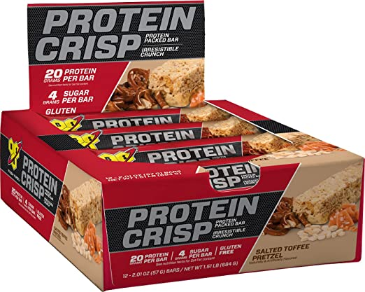 Product thumbnail for BSN Protein Crisp Bar by Syntha-6