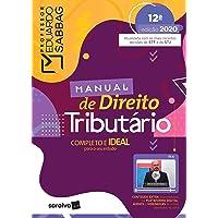 Manual de Direito Tributário - 12ª Ed. 2020