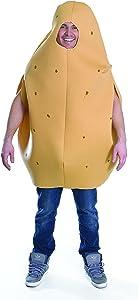 Bristol Novelties Adult Potato Fancy Dress, One Size - Brown