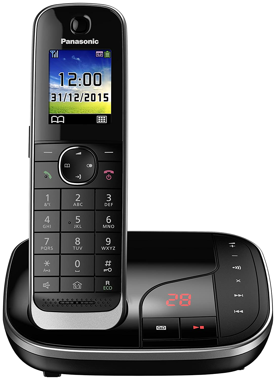 Panasonic KX-TGJ320GB avec ré pondeur (version allemande!) noir Panasonic Deutschland GmbH