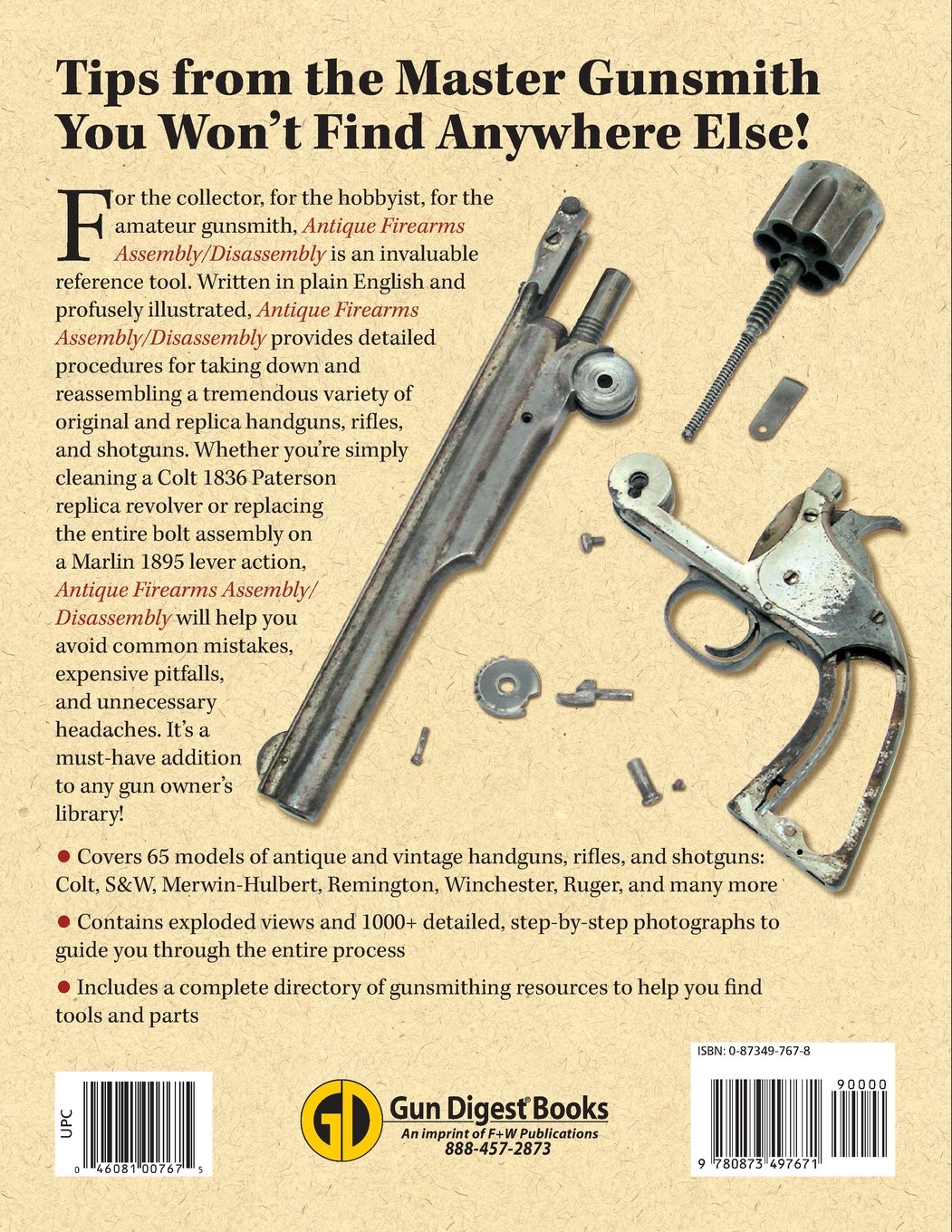 Amazon.com: Antique Firearms Assembly/Disassembly: The ...