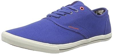 JACK  JONES Herren Jjspider Canvas Sneaker Low Top