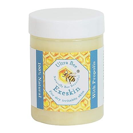 Bálsamo 100% natural para la picazón de la piel seca adecuada para personas propensas al eczema, la psoriasis y la dermatitis, formuladas con ...