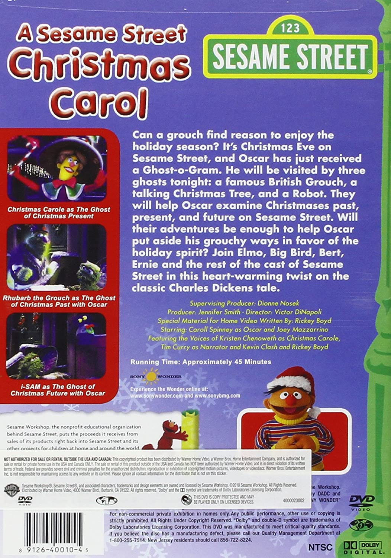 A Sesame Street Christmas Carol.Amazon Com A Sesame Street Christmas Carol Movies Tv