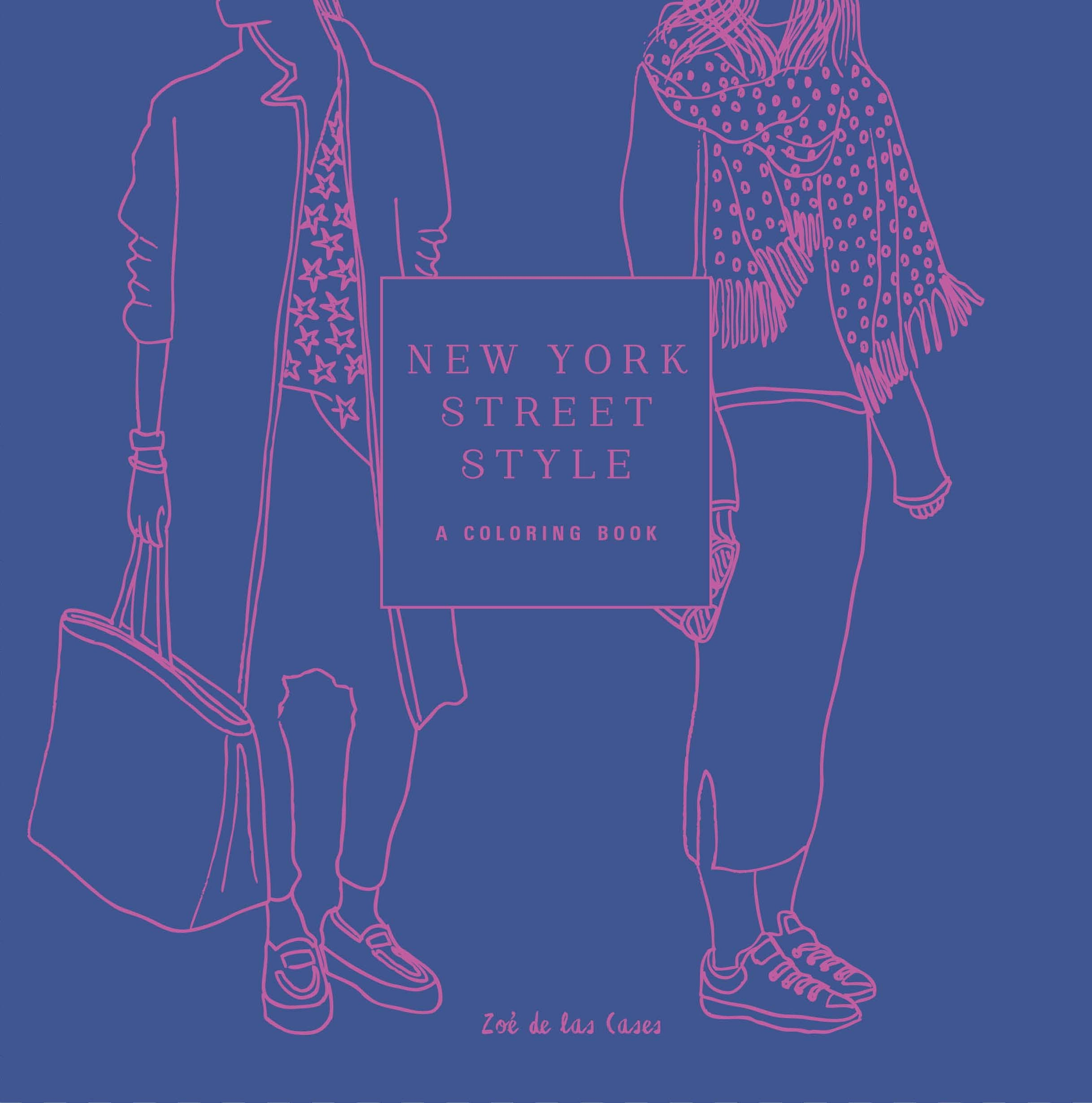 New York Street Style Coloring product image