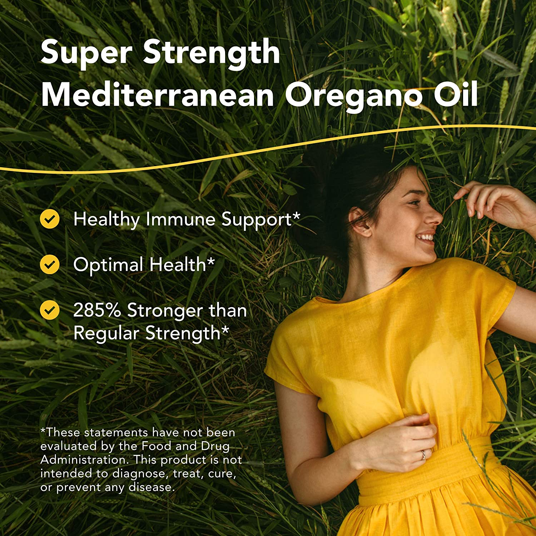 North American Herb & Spice Super Strength Oreganol P73-1 fl. oz. - Immune System Support - Certified Organic, Wild Oregano - 285% More Potent Than Regular Strength - Non-GMO - 194 Servings: Health & Personal Care