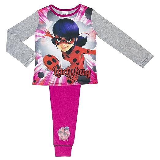 Amazon.com: Disney Girls Miraculous Ladybug Pyjamas - Age 4-10 Years Various Designs: Clothing
