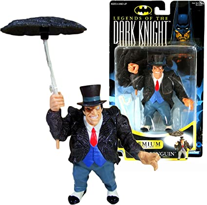 Legends of the Dark Knight 1996 Kenner New The Penguin Action Figure